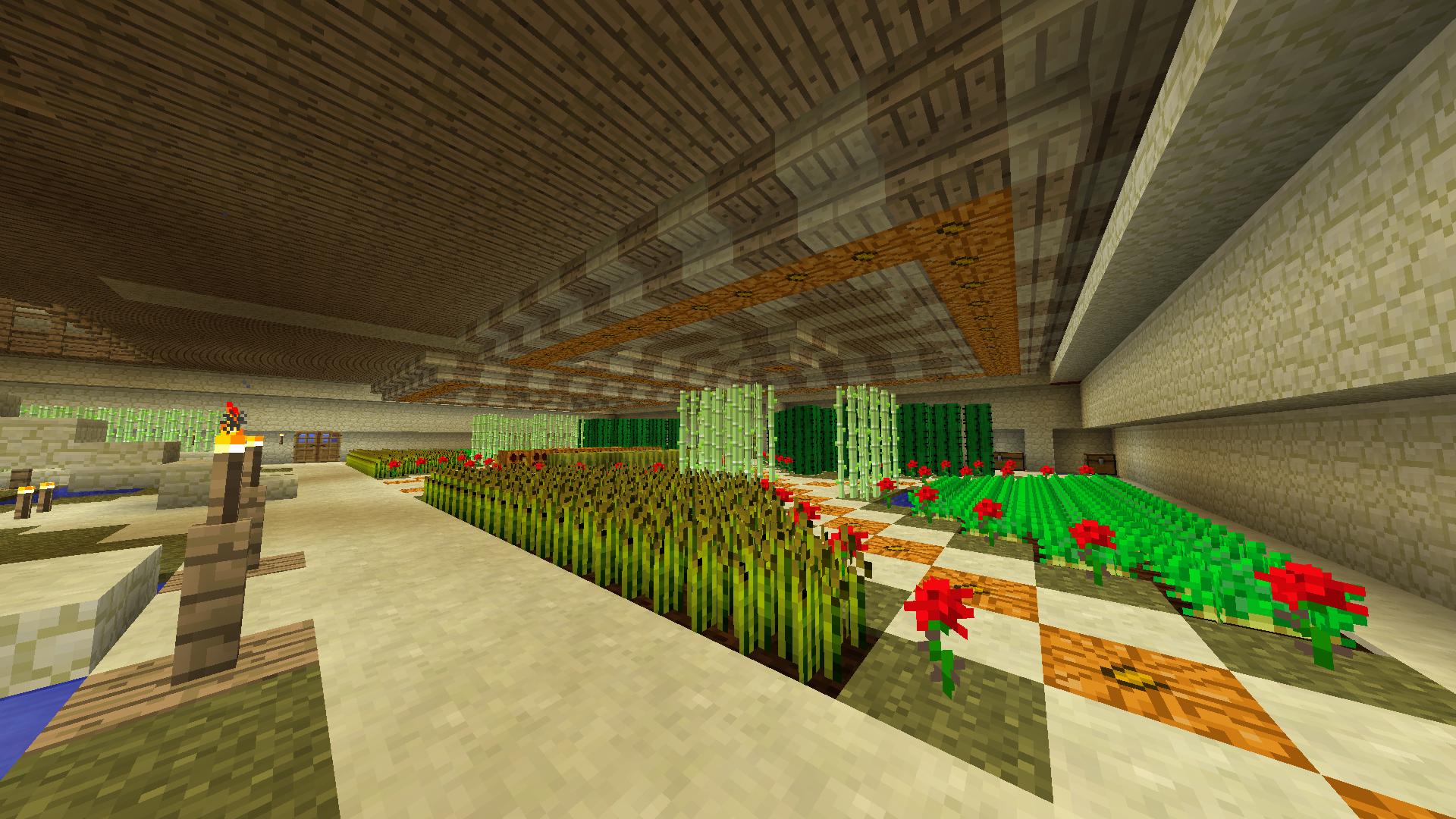 Main Residence Interior - Garden