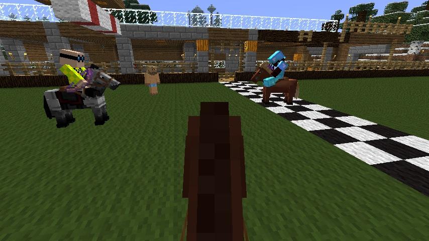Streaker on the Track!