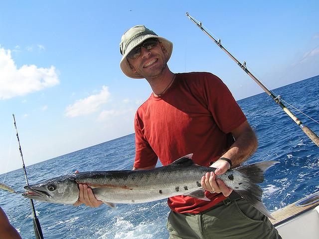 Kop with a barracuda