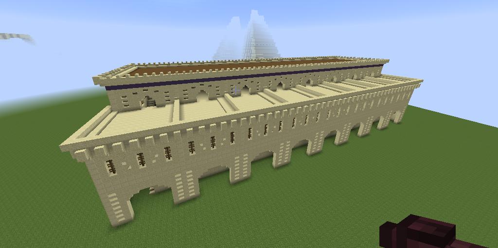 desert city - Design building long