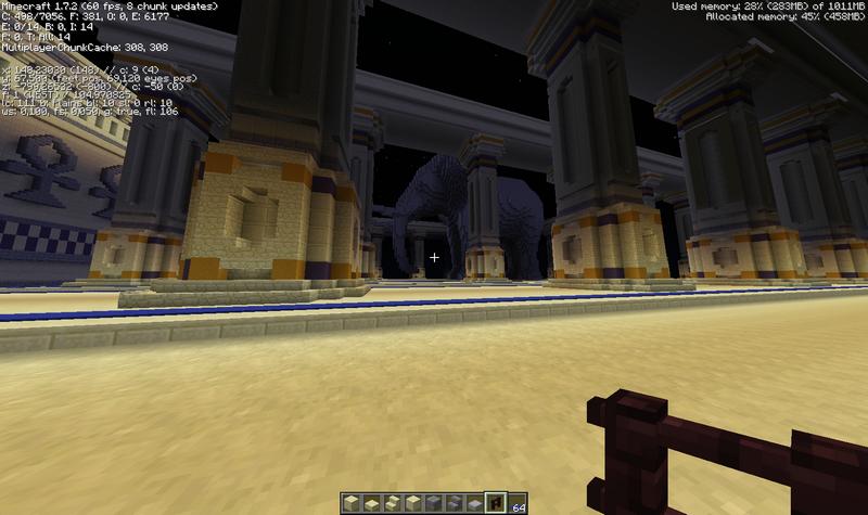desert city - design elephant temple