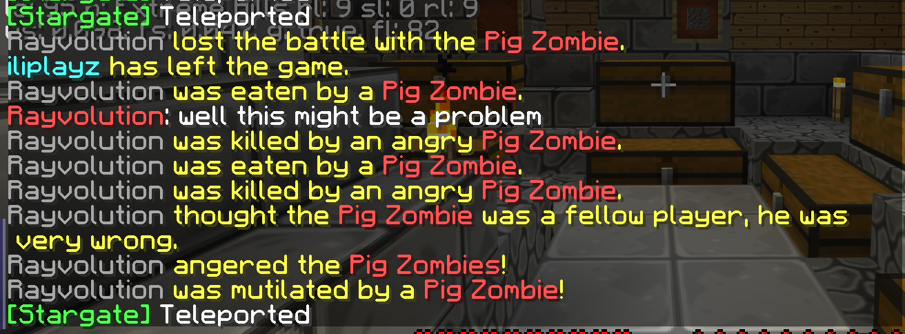 Don't mess with pigmen.
